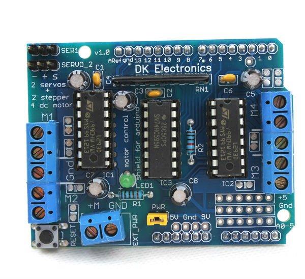 расширения L293D Arduino