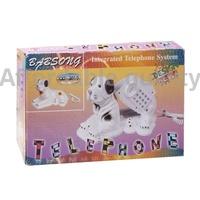 новый творческий собака shaped телефонной линии проводной телефон стол для домашнего офиса