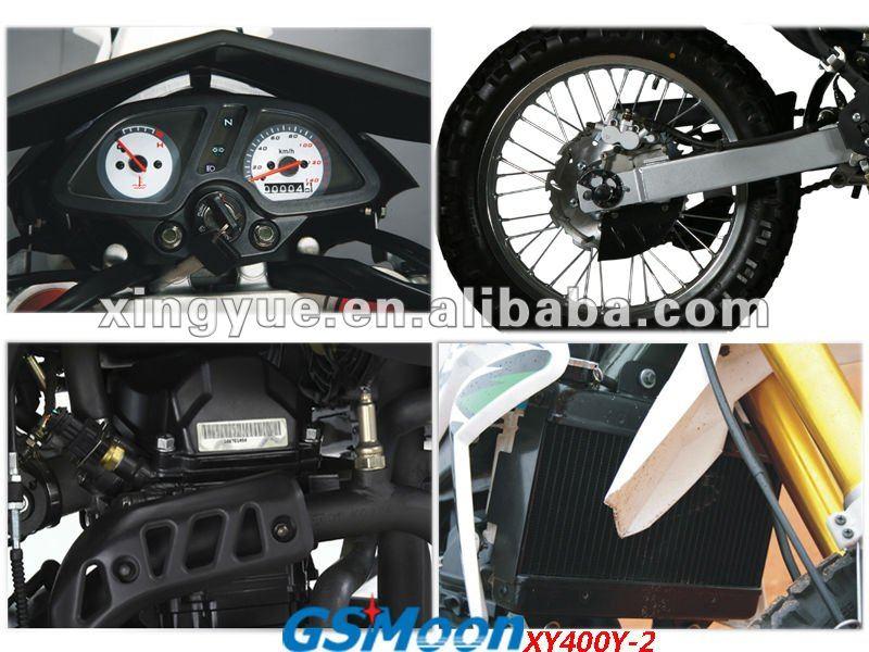 Powerful 400cc Water Cooled EEC EPA dirt bike