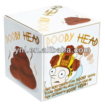 Funny Games Doody Head Hats
