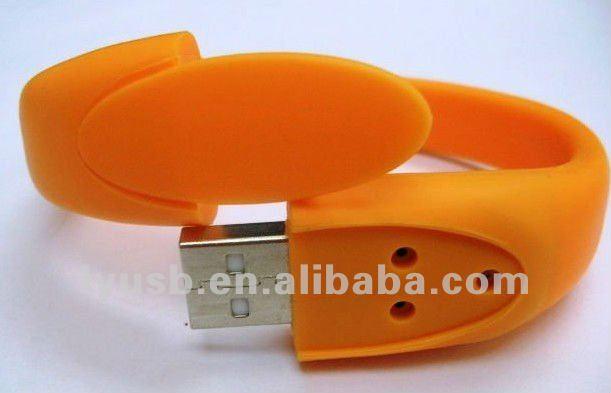 Wholesale 8GB Bracelet USB drive flash disk ,wristband usb flash memory 8gb usb2.0