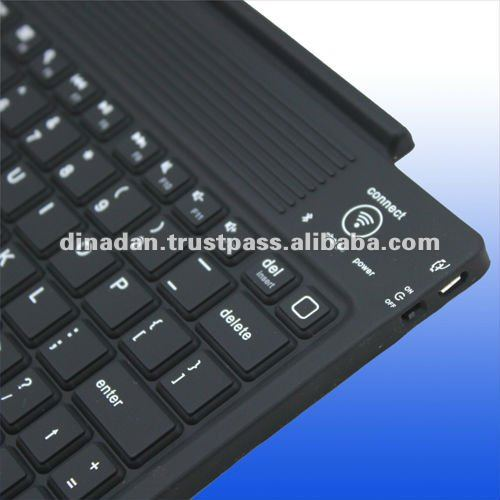 Multi-languages wireless bluetooth keyboard for the new iPad