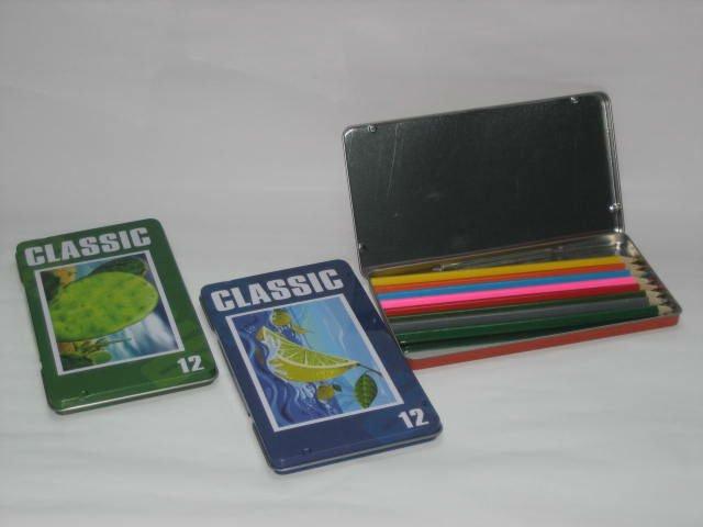 Tin box color pencil box CP-24