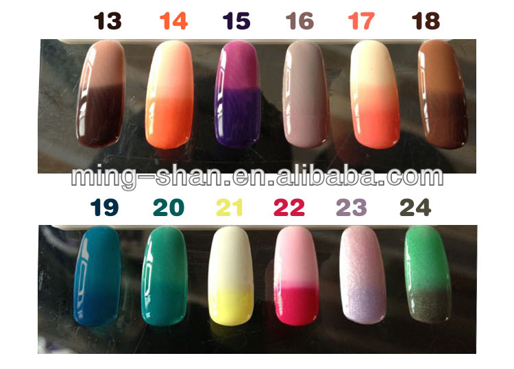 Gel Nail Polish That Changes Color With Temperature Color Changing Gel Polish