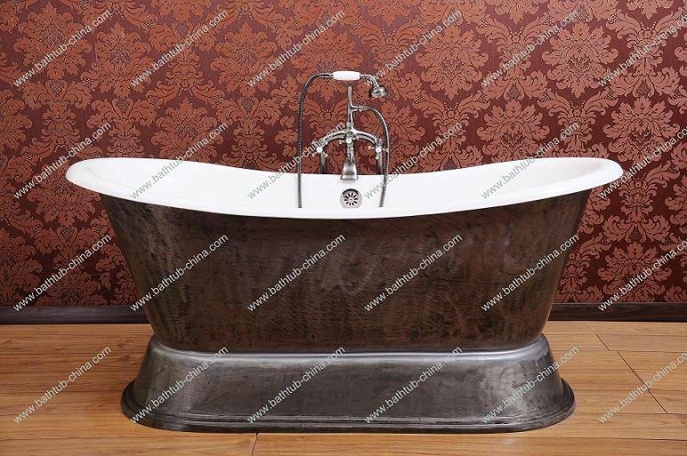antica vasca da bagno stileghisa smaltata vascaoriginale vasca