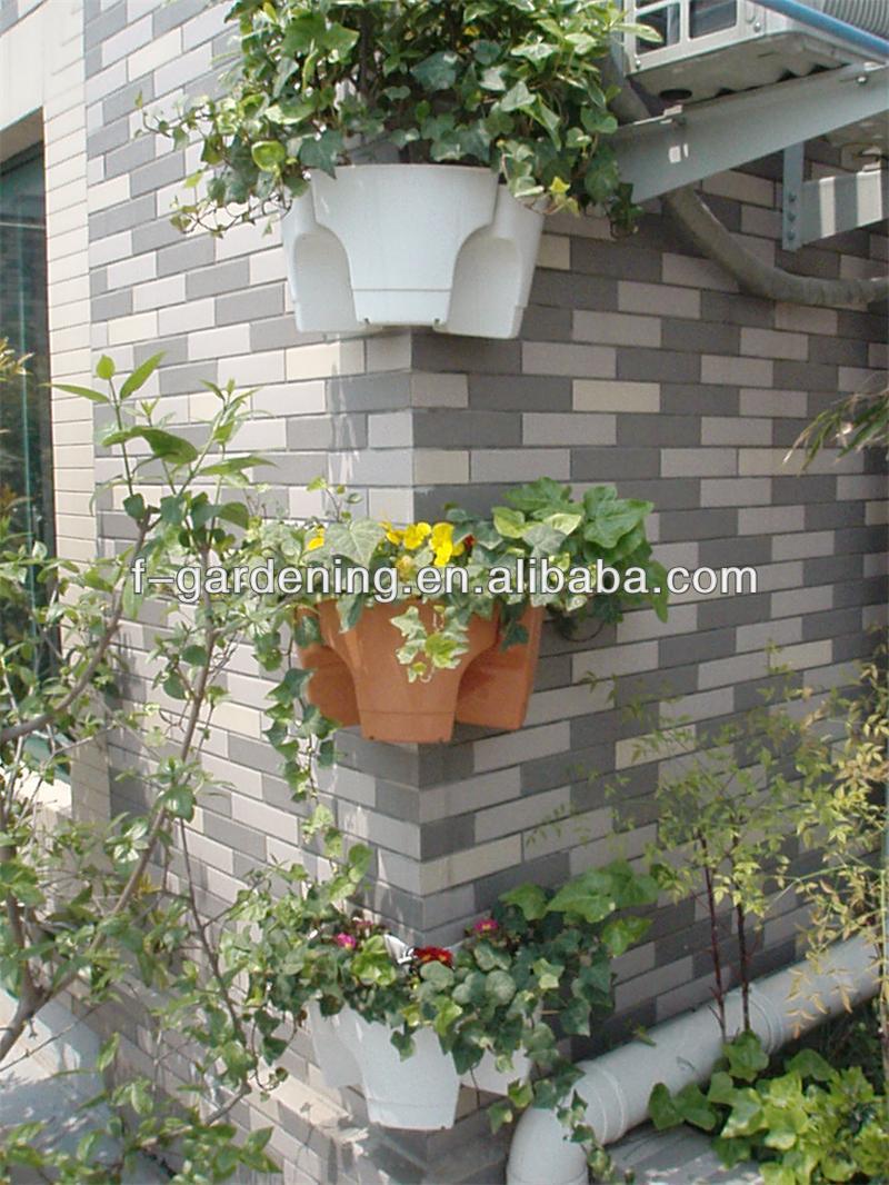Vertical Garden Supplies Stackable Hangable Flower Pot For