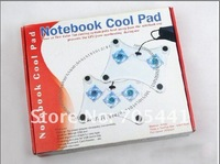 USB-гаджет 3 FANS USB notebook cool pad
