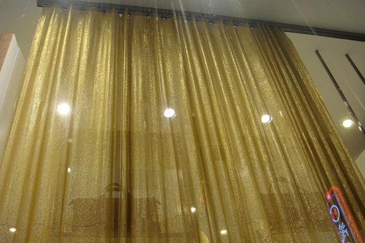Metal mesh curtain,metal drapery,decorative wire mesh