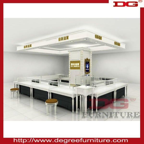Modern style jewellery showroom designs,jewellery showroom display