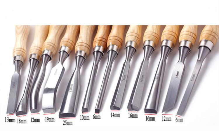 Popular Hot Sale High Quality Wood Carving Tools Set 6PCS Wooden
