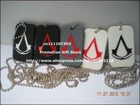 Колье-цепь Assassins Creed , Assassin's Creed 24 , 5Clours, 50pcs/Lot