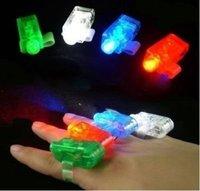 Детская игрушка светящаяся в темноте LED night Finger  light 20pcs/lot /4 Party Favor