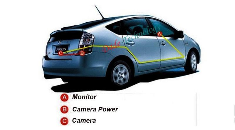 высокое качество 3,5-дюймовый цветной ЖК-дисплей hd 800 * 480 резолюции автомобиля монитор для камеры обратный вид сзади автомобиля