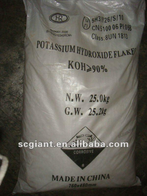 Putiry 90% Potassium hydroxide 90%