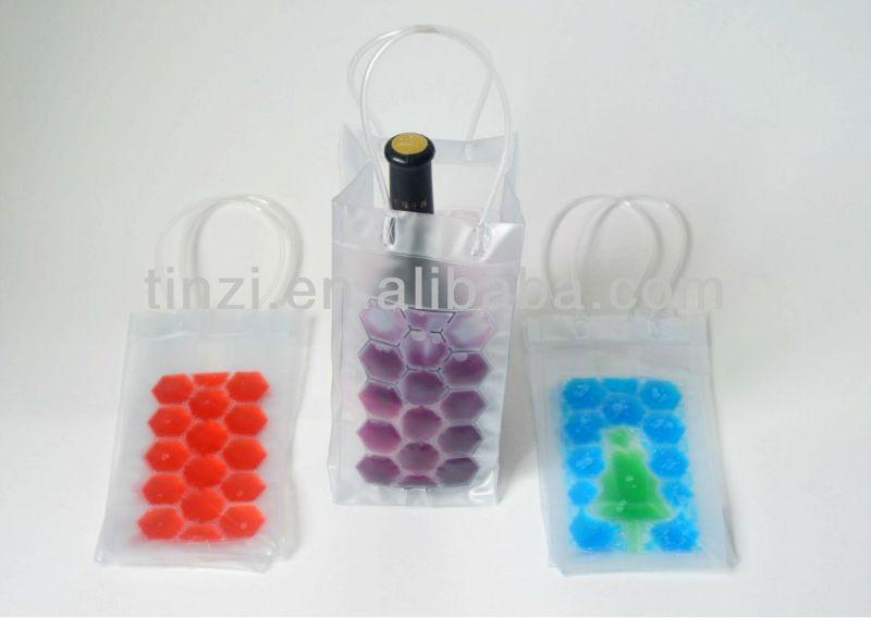 Plastic Water Bottle Cooler Bag, Handy Cooling Bag