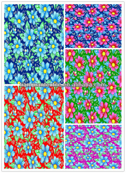 100%cotton printed flannel fabric for quilt