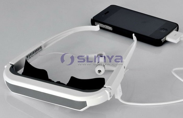 "Glasses For iPhone iPad iPod 3D 72"" Video Glasses Full HD"