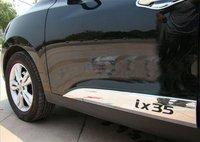 2010-hyundai ix35 высокого качества abs хром тела боковые молдинги боковые двери украшения