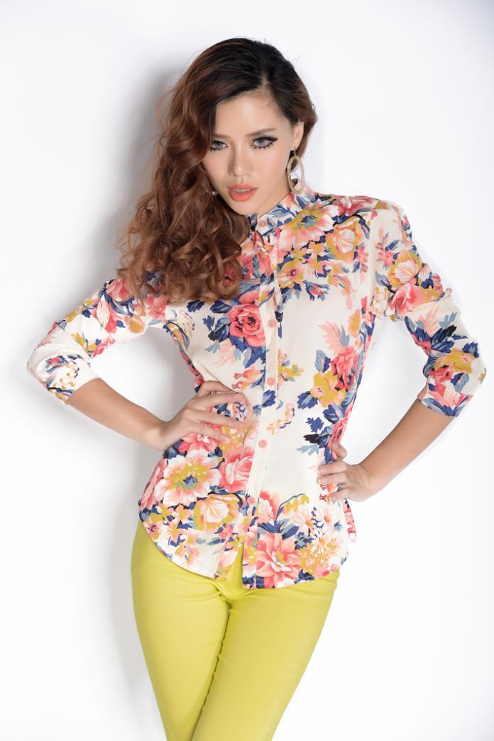 Цветные Блузки