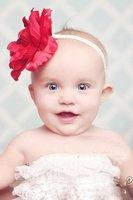 Детский аксессуар для волос 10pcs/lot cute baby flower headbands infant cotton hair band / baby cotton head scarf / baby headwear / headdress