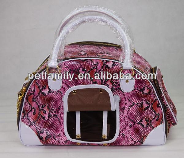 pattern dog carrier folding dog carrier large dog carriers PT033-2
