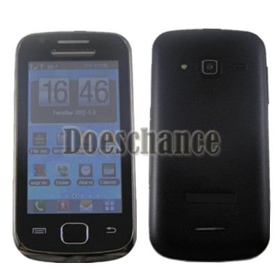 W5660 TV Wifi 3.6'' dual sim quad band unlocked phone