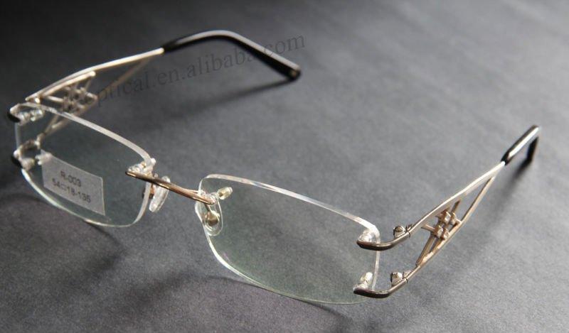 Rimless Reading Glasses