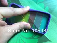 Радуга обратно Обложка чехол для iphone4/iphone4s с антибликовым покрытием ТПУ мягкий рама + жесткий rainbox задняя крышка