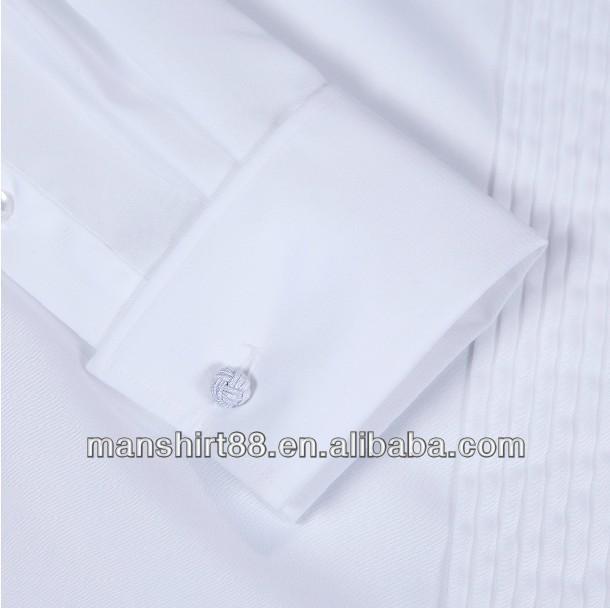 100% cotone di alta qualità ala- punta collare polsino francese 1/4 Commercio all'ingrosso, produttore, produzione
