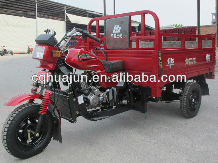 HUJU 175cc trike motor bikes / 200cc chopper motorcycle / trimoto motorcycle for sale