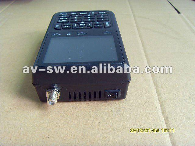 2012 digital 2012 Buscador de satelite digital, dvb-s por satelite buscador de metro, buscador de satelite