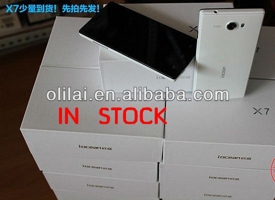 "2013 new Iocean x7 MTK6589 quad core phone RAM 1G 5.0"" 3G 1920*1080IPS"