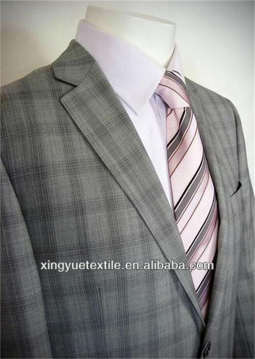 product gs british style light gray plaids man suit