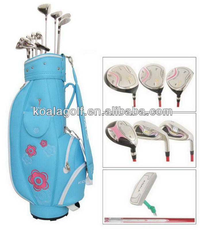 PU Brand Golf bags,Golf club sets