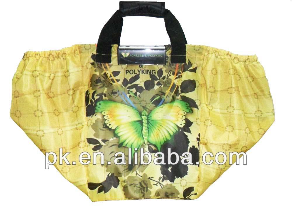 Environmental cheap pictures printing non woven shopping bag Convenient supermarket shopping (PK-11164)