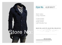 Мужской тренч mens jacket, thin short trench casual outerwear jacket coat for men