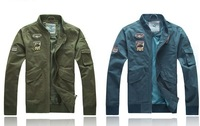 Мужская ветровка 2013 fashion epaulette stick jacket autumn of shoulder strap design LiLing jacket men