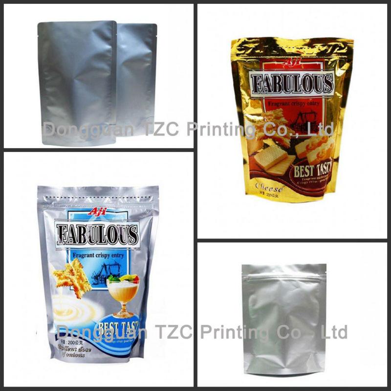 custom printed food grade bag custom resealable plastic bags