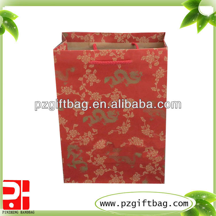 large brown paper shopping bags wholesale