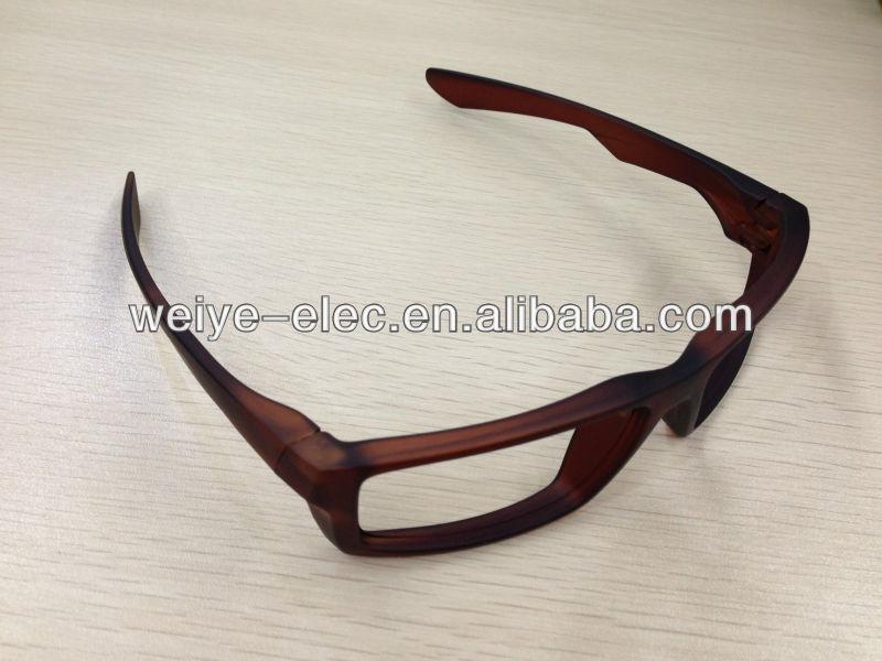 3d passive polarization glasses plastic frame 3d polarized glasses