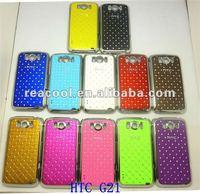 Чехол для для мобильных телефонов 50pcs/lot Luxury Bling Diamond Crystal Star Hard Back Case Cover For HTC Sensation XL X315e G21
