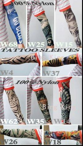 fake sleeve tattoo. fake arm sleeve tattoos