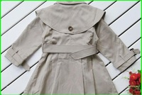 Пальто для девочек Autumn 2012 the new Children's shawl coat girls Korea overcoats Outerwear