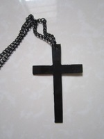 Цепочка с подвеской USD, Can Mixed Order! Trendy Multi-storey Chain Cross Necklaces. NL057001