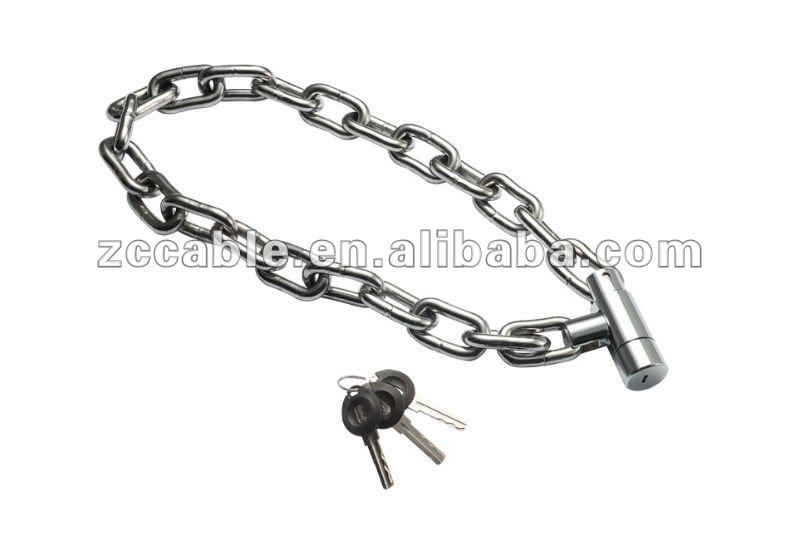 SL778 SL779 SL780 NEW NURBO nylon chain covers motorcycle lock,heavy duty motorbike/bike chain padlock lock