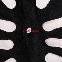 JP аниме kigurumi пижамы скелет черепа косплей костюм взрослых пижамы Толстовки партии платье унисекс пижамы by0009 человеческий скелет