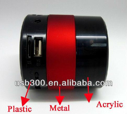 New product Micro sd mini speakers SARDINE SDY-001