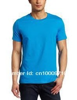 sell man's polo shirts 160g  100%cotton oneck short sleeves logo can printing