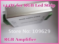 High Power LED RGB Amplifier;DC12V input; 12A output Free Shipping! wholesale and retail!