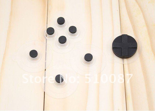 NEW! 100pcs/lot Screen Sucker cup Controller game Button for iPhone4 Joystick Joy pad for iPhone 4,3G iPod touch, iPad